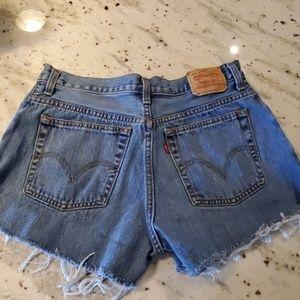 Levi's 550 Cutoff Shorts